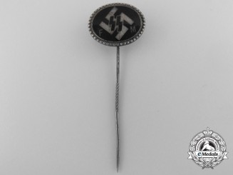 An SS Supporting Member Stickpin by Deschler