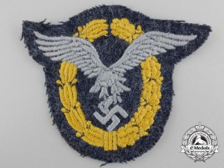 A Luftwaffe Pilot & Observer Badge; Cloth Version