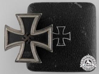 An Iron Cross First Class 1939 by Fritz Zimmermann with Case