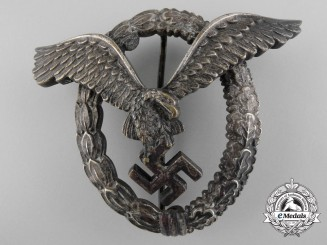 A Luftwaffe Pilot's Badge by Berg & Nolte