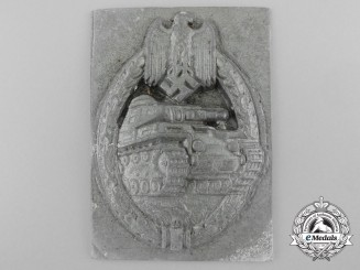 A First Strike Tank Badge Recovered from the Zimmermann Factory