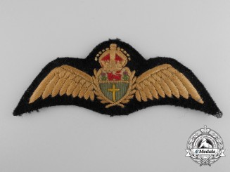 A Second War Royal Rhodesian Air Force (RRAF) Pilot's Wing
