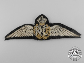 A First War Royal Flying Corps (RFC) Pilot's Wing