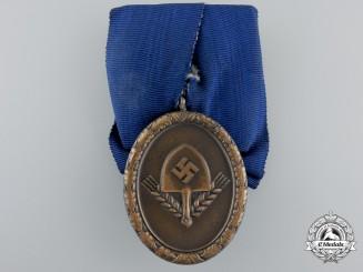 An RAD (Reichsarbeitsdienst) Long Service Award; 4th Class