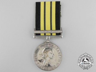 A 1902-1956 Africa General Service Medal to Wdr. Densdent