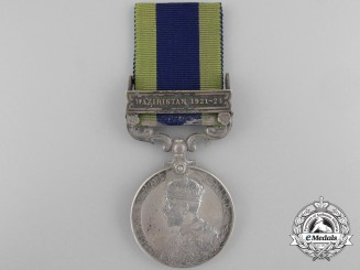 A 1908-35 Indian General Service Medal to the Welch Regiment