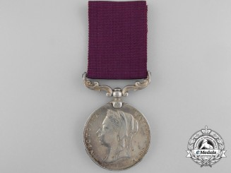 An Indian Army Long Service & Good Conduct Medal to the 8th Bombay Infantry