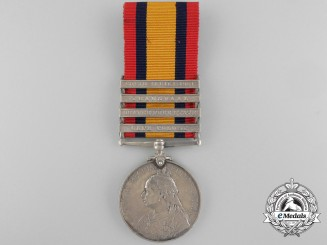A Queen's South Africa Medal to the Cape Medical Staff Corps
