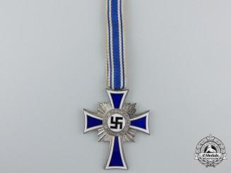 A German Mother's Cross; Silver Grade