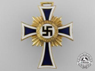 A German Mother's Cross; First Class Pin Back