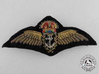 A British Fleet Air Arm Pilot Badge