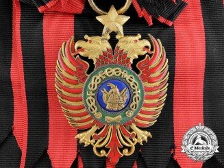 Albania, Italian Occupation. An Order of Scanderbeg, Grand Cross, by Raviolo & Gardino, Roma