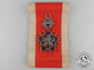 Czechoslovakia. An Order of the White Lion, Grand Cross Badge, c .1935