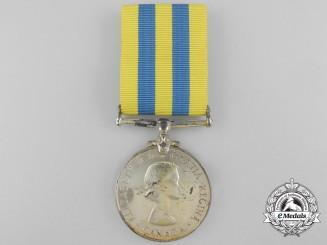 A Canadian Korea Campaign Medal