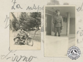 Three Second War Period Croatian Original Photographs