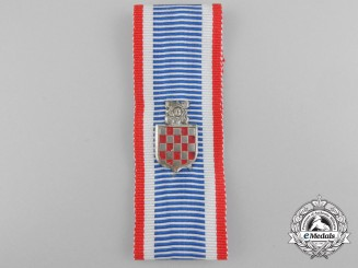 A Croatian Second War Commemorative Badge