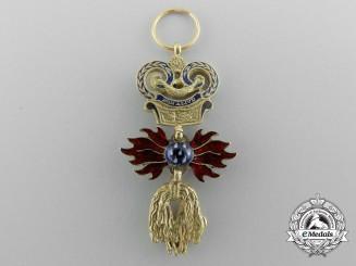 A Superb Miniature Austrian Order of the Golden Fleece in Gold