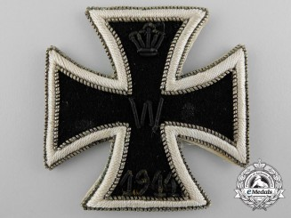 Germany, Imperial. An Iron Cross I Class 1914, Cloth Version, Rare