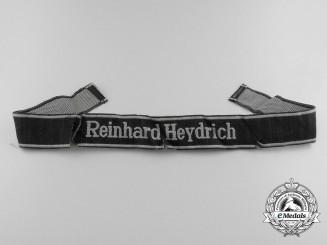 """Germany. A Waffen-SS """"Reinhard Heydrich"""" Cufftitle"""