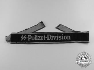 A Waffen SS-Polizei-Division Cufftitle