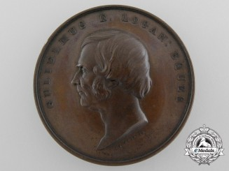 An 1864 McGill University William E. Logan Medal