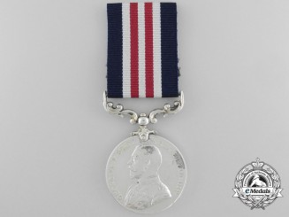 Canada. A Military Medal for Gallantry in Action, November 1917