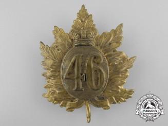 Canada, Dominion. A Boer War Period 46th Regiment Glengarry Badge