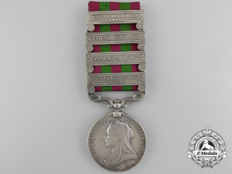 An India Medal 1895-1902 to the 2nd Punjab Infantry