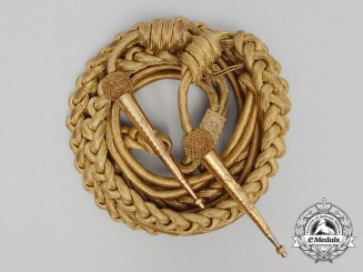 A British Army Officer's Aiguillette