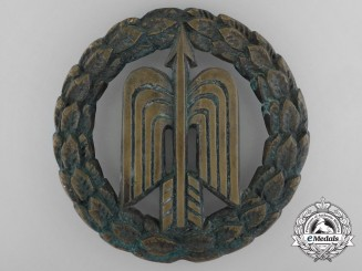 A Luftwaffe Fighter Squadron Emblem from Ground Base Gate
