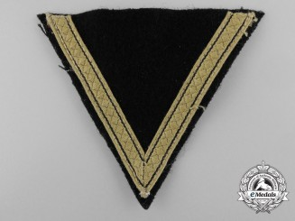 An SS-Sturmmann Tropical Rank Chevron