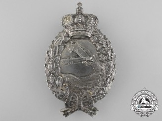 A First War Bavarian Pilot's Badge by Karl Pöllath, Schrobenhausen