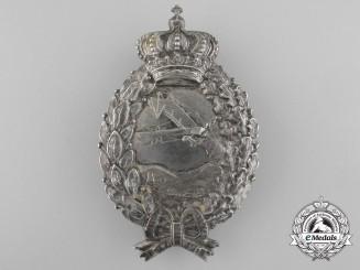 A First War Bavarian Pilot's Badge by Karl Pöllath, Schrobenhausen