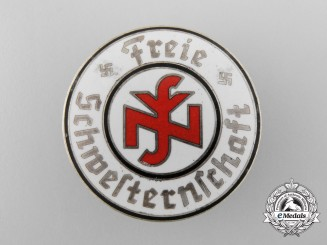 A National Federation of Free Sisters and Nurses of the German Nurse's League Badge
