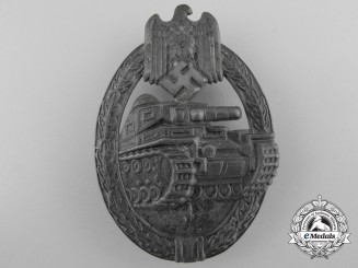 An Early Silver Grade Tank Assault Badge