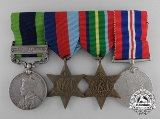 An India General Service Medal 1908-35 Medal Bar 2nd Punjab Regiment