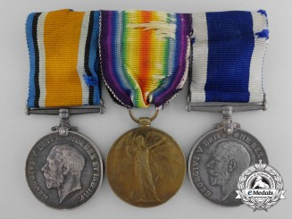 A First War Royal Navy Long Service Medal Bar