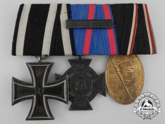 A First War Oldenburg Medal Bar