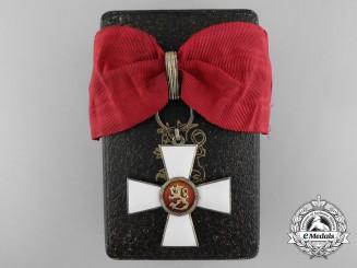 Finland, Kingdom. An Order of the Lion, Commander, by Tillander & Co.