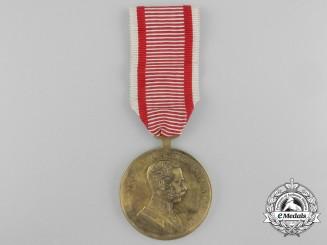 An Austrian Bravery Medal; First Class