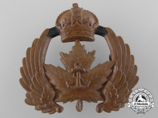A Royal Canadian Naval Air Service Cap Badge