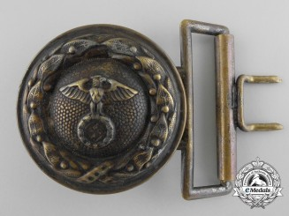A German Air Sport Association General Officer's Belt Buckle