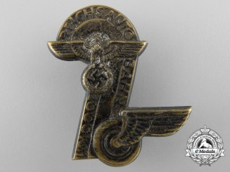 A 1930's Badge Celebrating 2000km of Reichs Autobahn