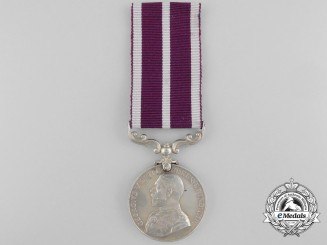 An Army Meritorious Service Medal to Private Edwards