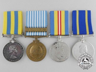 A Korean War & Royal Canadian Mounted Police Long Service Grouping