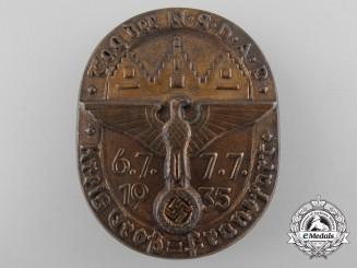 A 1935 NSDAP Day Badge at Kreis Groß, Frankfurt