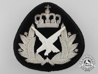 A Norwegian Air Force Cap Badge