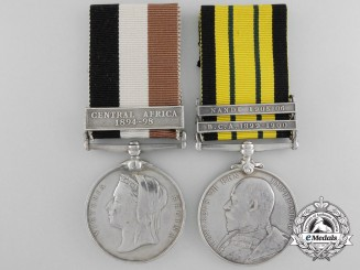 An African Service Pair to the King's Africa Rifles