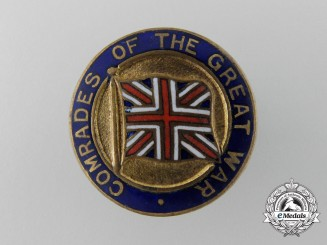 A First War Comrades of The Great War Lapel Badge