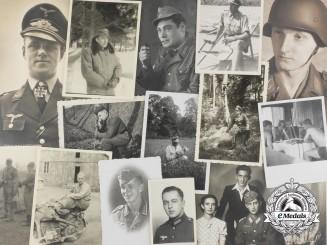Germany, Third Reich. A Lot of Nineteen Luftwaffe & Heer Photographs